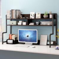【直降】电脑桌上书架创意桌面伸缩小置物架简易书柜办公桌收纳架