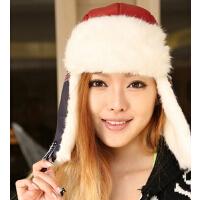 韩版冬季加厚护耳冬帽雷锋帽潮韩国冬滑雪帽
