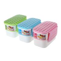 振兴FH0099塑料饭盒双层便当盒微波炉餐盒上班族学生食堂自带饭盒 颜色随机