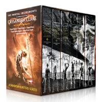 【全店300减100】The Mortal Instruments 圣杯神器骸骨之城 1-6本盒装 Cassandra