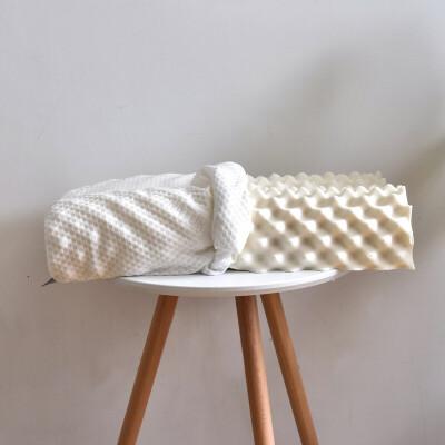 娇帛JIAOBO天然乳胶90%狼牙乳胶枕大颗粒状按摩枕单人午睡枕乳胶枕芯配内套 狼牙乳胶枕