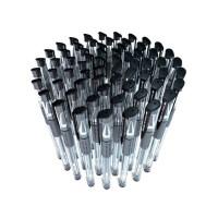 广博0.5mm黑色中性笔批发学生用送碳素笔芯办公文具用品水笔
