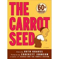 【正版直发】胡萝卜种子进口原版 平装 童趣绘本学前教育(4-6岁) Ruth Krauss(露丝・克劳斯),Crock