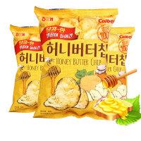 【年味狂欢 爆品直降】海太蜂蜜黄油薯片60g*3袋蜂蜜黄油薯角膨化大包薯片休闲零食 原味