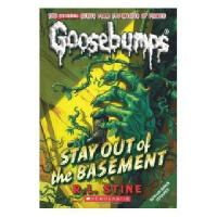 英文原版儿童书 Classic Goosebumps 22: Stay Out of the Basement 鸡皮疙