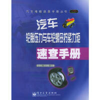 汽车轮胎压力与车轮螺母拧紧力矩速查手册――汽车维修速查手册丛书 9787121017803 电子工业出版社