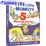 英文原版绘本 Five Little Monkeys 五只小猴子新版精装8个故事合集 廖彩杏书单 Jumping on