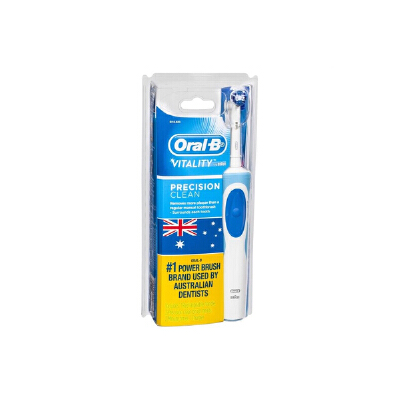 美国直邮 Oral-B欧乐B 成人牙线型电动牙刷 1支装 海外购
