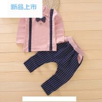 2018春季新款 儿童套装男童宝宝秋装0-1-2-3-4岁韩版童装小孩衣服