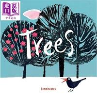 【中商原版】Carme Lemniscates:树苗 Trees 亲子绘本 低幼童书 保护树木 环保 3~7岁 精装 W