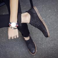 DAZED CONFUSED2017春季小皮鞋男韩版英伦风男士休闲鞋复古潮流男鞋子青年百搭