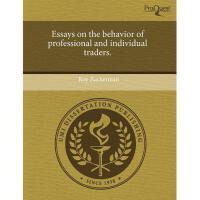 【预订】Essays on the Behavior of Professional and