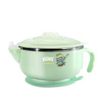 婴儿童餐具套装不锈钢 宝宝注水保温碗吸盘碗辅食碗婴幼儿吃饭碗勺