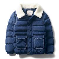 男童外套冬 冬装新款童装中大童棉服宝宝棉袄男儿童厚棉衣