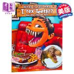 【中商原版】如果你有霸王龙的牙齿? 英文原版 What If You Had T. Rex Teeth? 儿童趣味百科