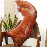 大猪蹄子抱枕 仿真可爱公仔少女搞怪超大个性创意毛绒3d床上网红