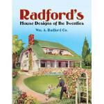 【预订】Radford's House Designs of the Twenties