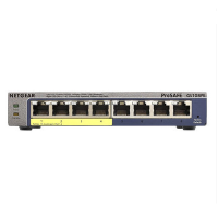 NETGEAR网件 GS108PE 8口 POE千兆简单网管交换机 监控供电