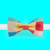非设计布生活时尚领结蝴蝶结新郎礼服正装领结煲呔色彩构成