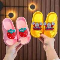 【抢购价9.9】儿童拖鞋 男女童防滑室内凉拖沙滩鞋宝宝小孩卡通水果中小童女童鞋