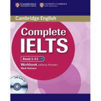 【预订】Complete Ielts Bands 5-6.5 Workbook Without Answers