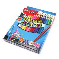 Maped马培德彩色铅笔 36色学生油性彩铅三角杆填色笔纸盒装