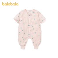 巴拉巴拉婴儿睡袋宝宝防踢被新生儿宝宝宝宝被子2021新款满印碎花夏