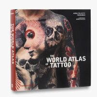 【预订】World Atlas of Tattoo世界纹身全观 纹身图案大全 纹身图案艺术设计图书
