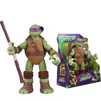 双钻忍者神龟模型 动漫公仔套装 可动人偶摆件玩具 大可动