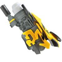 变形金刚对战电动玩具枪面具模型套装