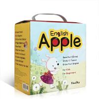 【可点读】英文原版绘本 Apple English苹果英语 小达人智能点读10册盒装附CD 零基础入门启蒙低幼儿童英语
