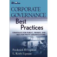 【预订】Corporate Governance Best Practices: Strategies For