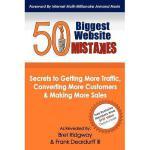【预订】50 Biggest Website Mistakes: Secrets to Getting More