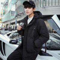 羽绒服男潮牌短款冬季韩版潮流2018新款帅气男装加厚保暖男士外套