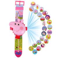 抖音小猪佩琪手表儿童卡通投影男女孩佩琪玩具社会人佩奇手表电子
