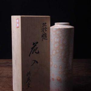 日本昭和时期陶制花瓶花器