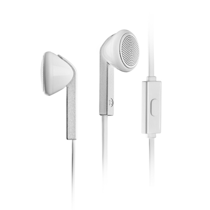 Edifier/漫步者 H190P耳机面条入耳式带麦平头耳塞式手机通用男女线控音乐运动游戏语音可接打电话