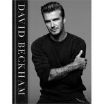 【现货】英文原版 David Beckham  大卫・贝克汉姆亲笔撰写自传,内含小贝150张*照片 英文精装写真专辑