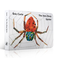 英文原版绘本The Very Busy Spider 好忙好忙的小蜘蛛吴敏兰廖彩杏书单第77本艾瑞卡尔代表作Eric