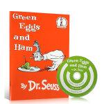 顺丰发货 英文原版绘本 Green Eggs and Ham Book with CD 苏斯博士 Dr.Seuss 廖