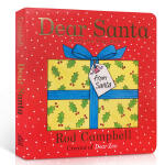 英文原版绘本Dear Santa 亲爱的圣诞老人 纸板翻翻书节庆 Dear Zoo作者Rod Campbell亲子共读
