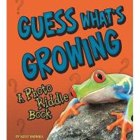 【预订】Guess What's Growing: A Photo Riddle Book