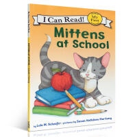英文原版 I Can Read Level 1: Mittens at School少儿英语绘本故事书读物