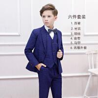 儿童西服套装男童小西装花童礼服韩版中大童男孩主持人钢琴演出服