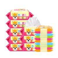 [当当自营]温莎婴儿口手湿巾80片*8包+10片*10包