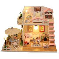 儿童拼图玩具6-8岁 10-12岁男孩模型拼装木质3d立体手工屋惊喜的创意节日礼品