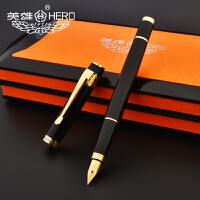 HERO英雄钢笔 学生钢笔 练字钢笔 英雄笔55黑漆钢笔礼品笔英雄铱金笔钢笔 英雄墨水笔 英雄笔字帖练字钢笔