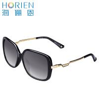 海俪恩太阳镜女 2016新款 偏光镜潮款大框眼镜 圆脸N6302