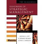 【预订】Blackwell Handbook Of Strategic Management