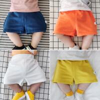 婴儿裤子夏天男0-1岁新生儿纯棉薄款短裤3-6个月宝宝休闲大PP裤潮